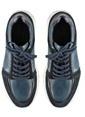 Marjin % 100 Deri Düz Casual Ayakkabı Lacivert